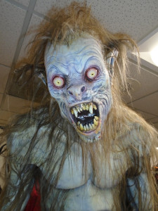 Werewolf in The Halloween Room - photo by Lisa Morton