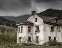 Four Haunted Houses