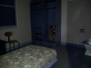 Shadowy figure that appeared in Kaaron Warren's photo.